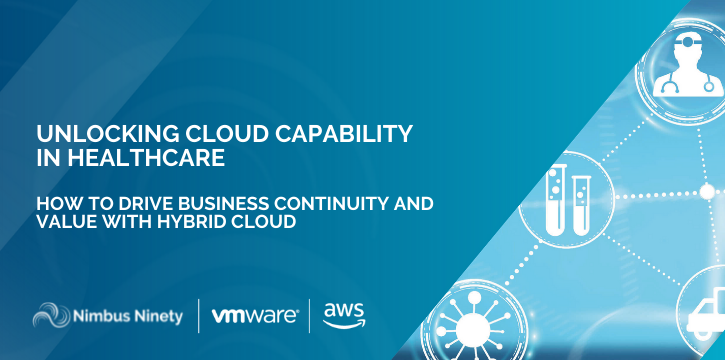 Unlocking Cloud Capability in Healthcare