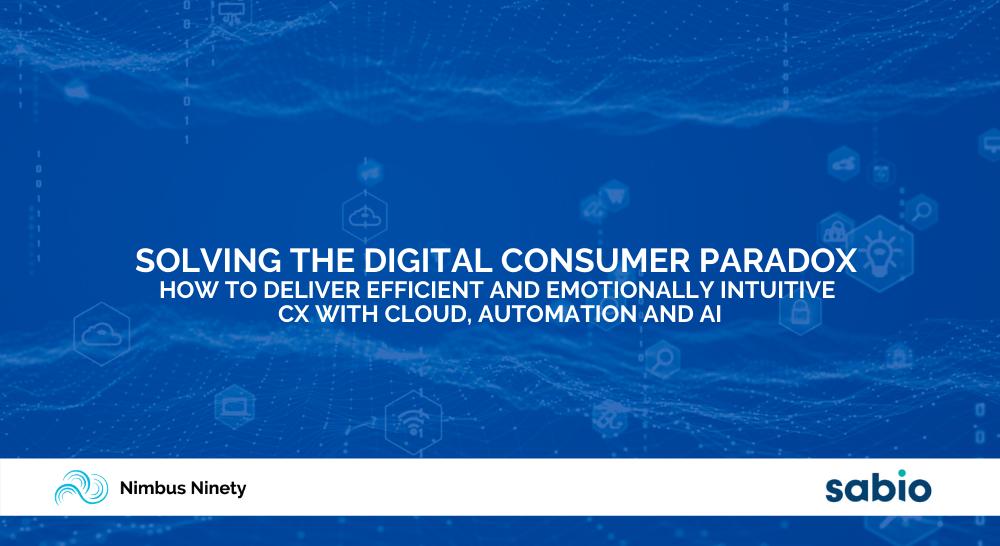 Solving The Digital Consumer Paradox