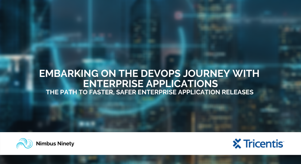 Embarking On The Devops Journey With Enterprise Applications