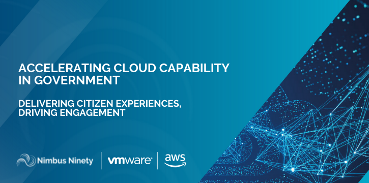 Accelerating Cloud Capability  in Government - Events Banner