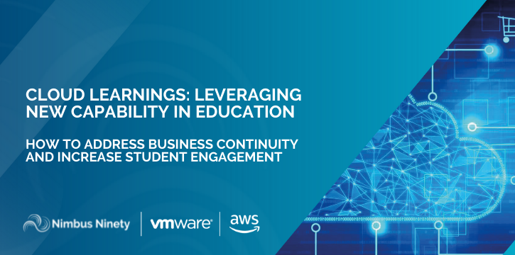 Cloud Learnings Leveraging  New Capability in Education - Events Banner