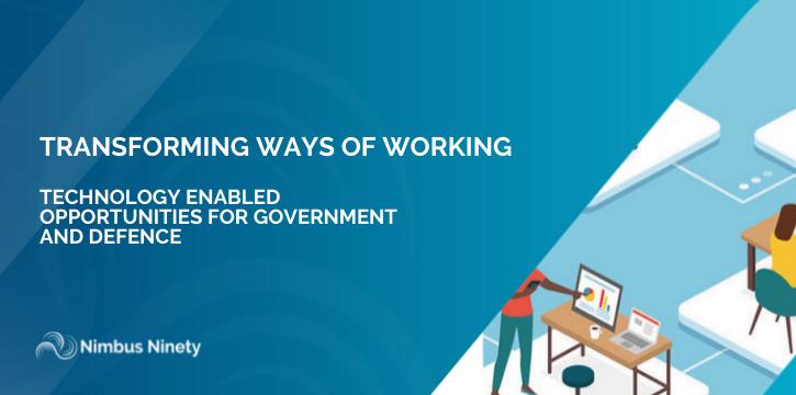 TRANSFORMING WAYS OF WORKING