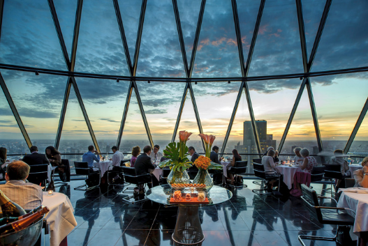 Digital Factory Dinner, The Gherkin