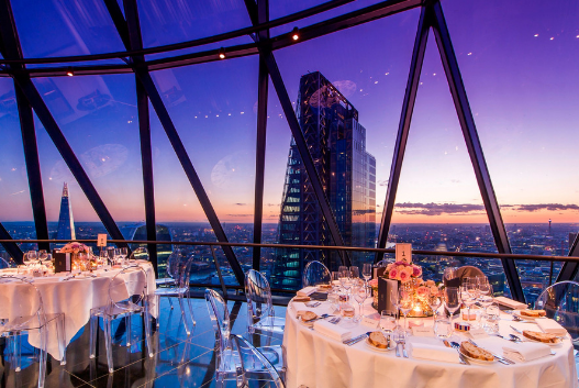 Cloud Strategy Dinner, The Gherkin