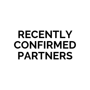 RECENTLY CONFIRMED PARTNERS