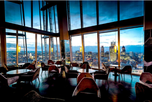 Customer Experience and Experimentation Dinner, The Shard