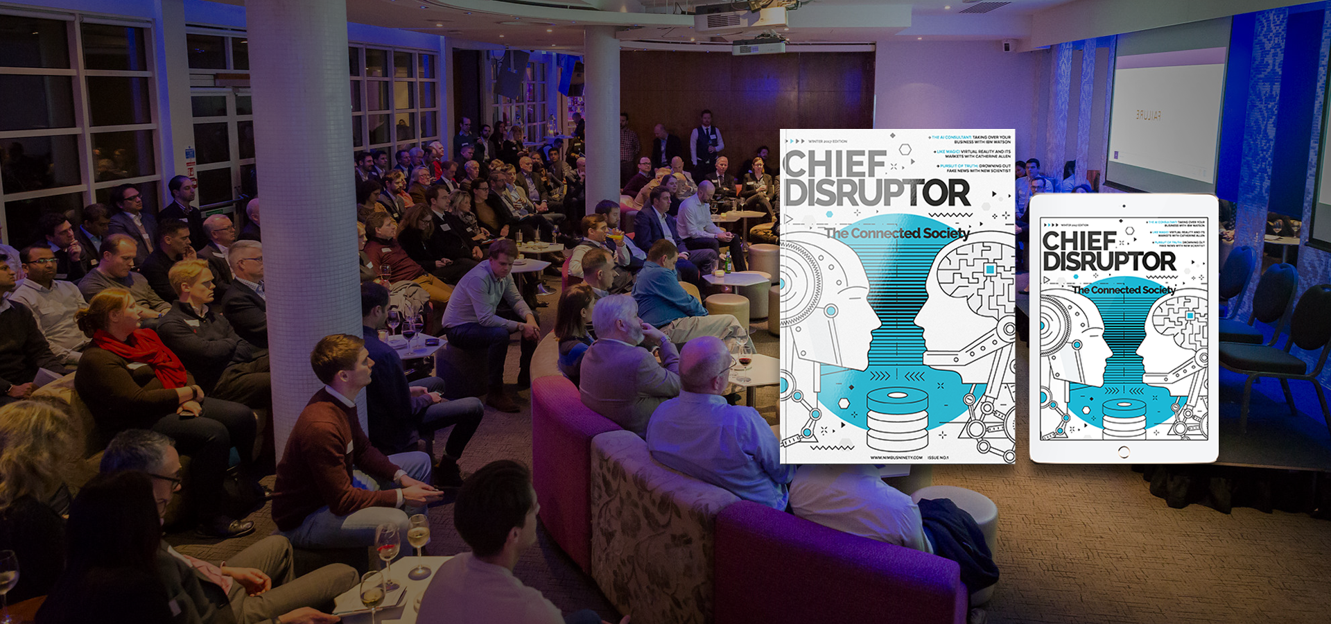 Chief Disruptor - Winter 2017 Edition