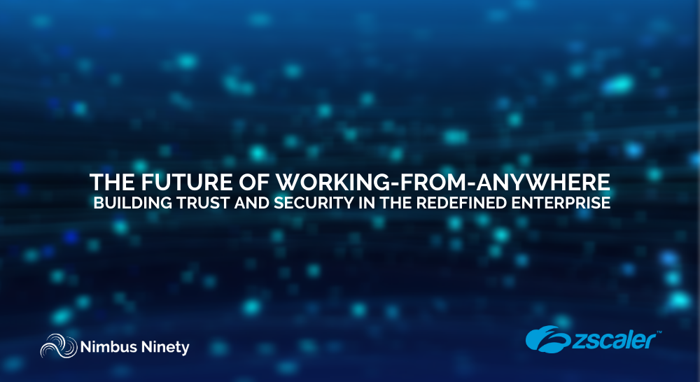 The Future of Working-From-Anywhere